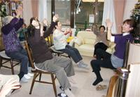 高齢者福祉施設への講師派遣活動の様子